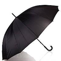 Зонт-трость мужской механический с большим куполом happy rain (ХЕППИ РЭЙН) u44853