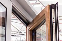 Дерево алюминиевые окна Reynaers серии SENSITY
