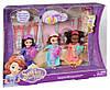 Куклы София Прекрасная Пижамная Вечеринка набор 3 в 1, DISNEY Sofia the First Royal Sleepover™ Dolls 3-Pack, фото 2