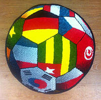 Коврик жаккардовый Kolibri Мяч флаги. Производство Украина.