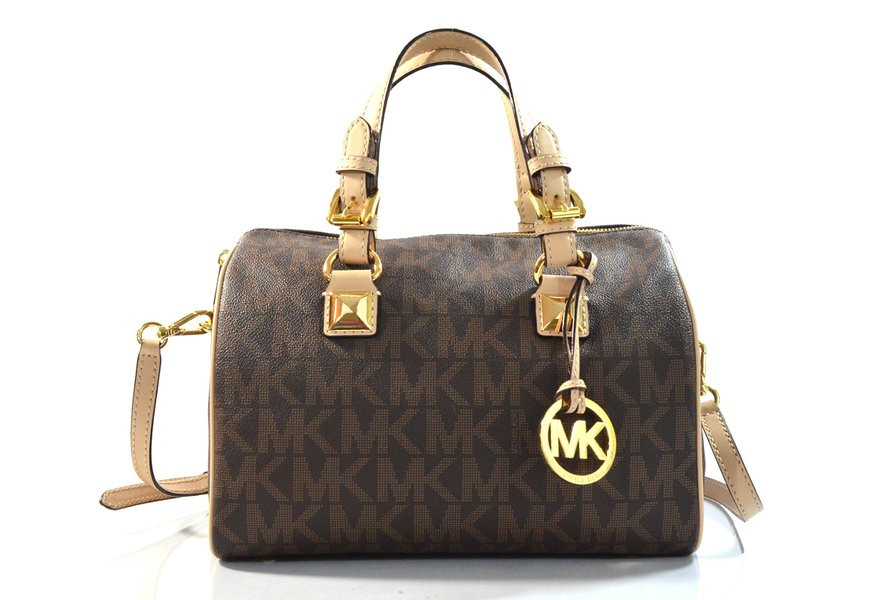 Сумка Michael Kors Grayson Faux Leather Convertible Satchel 35S5GGYS2B-200