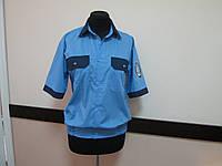 Рубашка форменная на резинке, сорочка охранника, униформа секьюрити