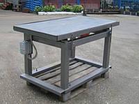 Вібростоли для виробництва тротуарної плитки як зробити конструкцію своїми руками