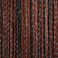 Дождь №8 Шоколадный / Серебро
