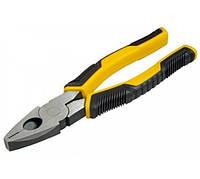Плоскогубці 200мм Control Grip Stanley STHT0-74367 | плоскогубцы, пассатижи, пасатижі, кліщі, клещи