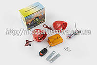 """Аудиосистема   BEST CHOICE   (3.5"""", красная, подсветка, сигн., МР3/FM/SD/USB, ПДУ, разъем ППДУ 3K)_"""