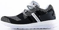 Мужские кроссовки Adidas Y3 Primeknit Pure Boost ZG Black/White