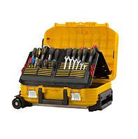 """Ящик інструментальний на колесах """""""" валіза майтра 54 x 40 x 43,5см FMST1-72383 Stanley // Ящик инструментальный с колесами """"Stanley"""" чемодан мастера"""