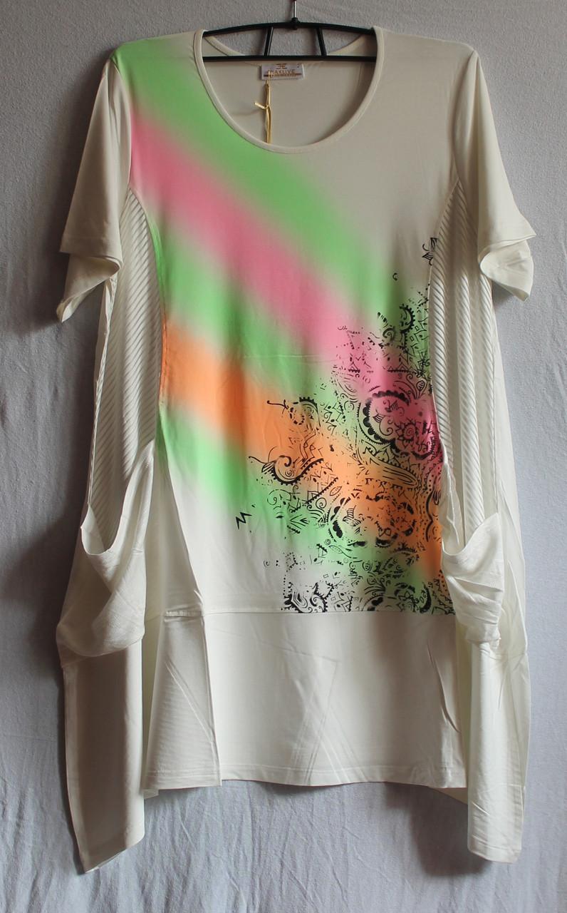 Туніка-плаття жіноче 2183 Білий