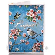 Женская обложка для паспорта passporty (ПАСПОРТУ) kriv046