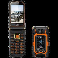 Противоударная раскладушка Land Rover X9 2 сим, 2 экрана, 3 Мп,