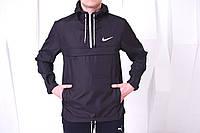 Анорак Nike (Найк) - Ветровка, черный, ф252