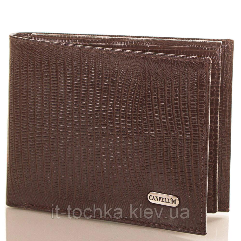 Мужской кожаный кошелек canpellini (КАНПЕЛЛИНИ) shi1021-10-laz