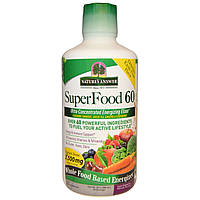 Nature's Answer, SuperFood 60, с натуральными ароматизаторами, 30 oz (900 мл)