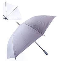 Зонт-трость мужской полуавтомат со светоотражающим куполом fare (ФАРЕ) fare7471-9
