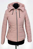 Женская куртка  весна/осень LK-1712 Розовый