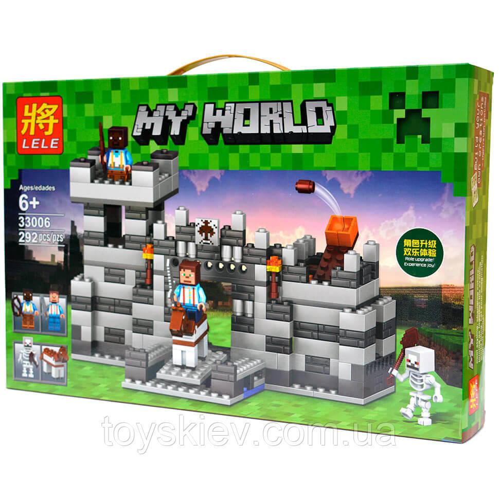 """Конструктор Minecraft 33006 """"Неприступная Крепость"""""""