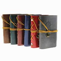 [ Блокнот Компас ] Винтажный кожаный ежедневник блокнот книжка для записей