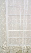 "Готовая тюль-вышивка ""Люси"" V3 (Крем), фото 2"