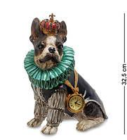 "Статуэтка с часами ""Собака Элизабет"" NS-175"