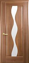 Межкомнатные двери Новый Стиль Волна стекло сатин, фото 3