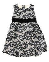 Платье нарядное с бархатным поясом Crazy8