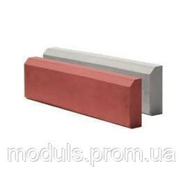 Поребрик бетонный садовый 500*200*65