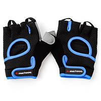 Мужские перчатки для фитнеса Meteor Grip 25 (original), спортивные атлетические тренировочные