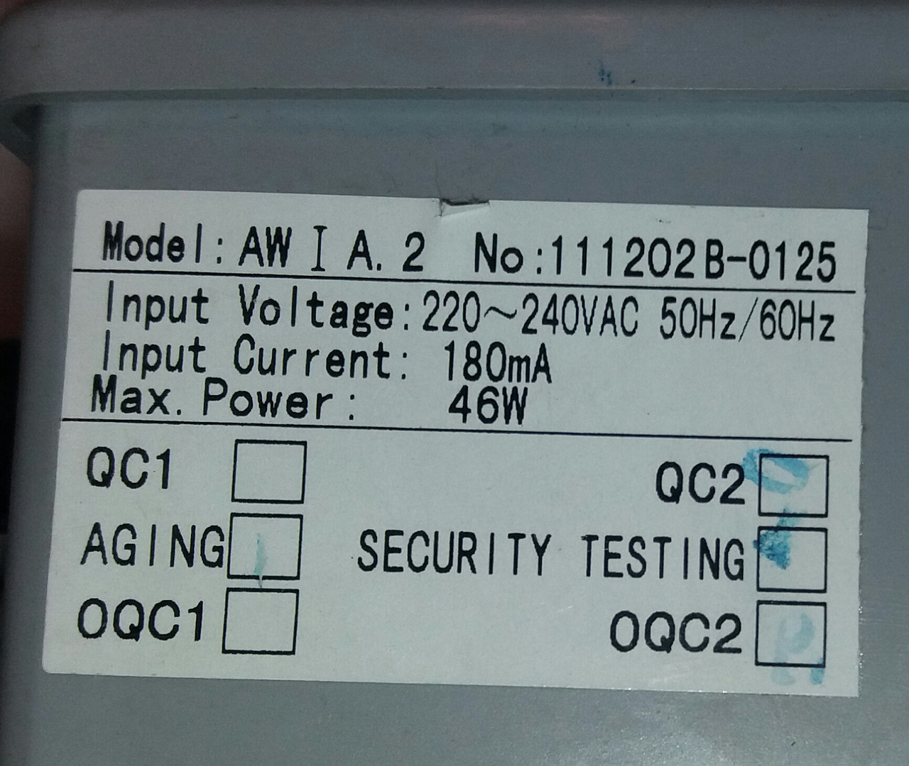 Блок керування душової кабіни Appollo  AW I A. 2