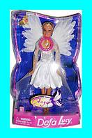 """Кукла светящаяся Defa Lucy """" Ангел"""" !"""