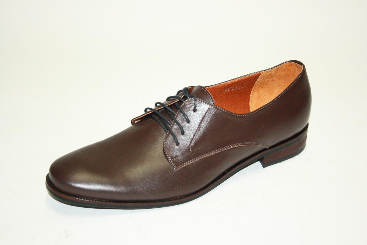Туфли  Oscar Fur 15207 Темно-коричневый