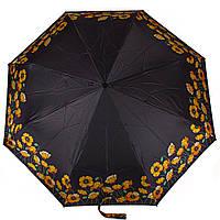 Женский автоматический зонт doppler dop74665gfgp-2 magic mini big carbon с маками
