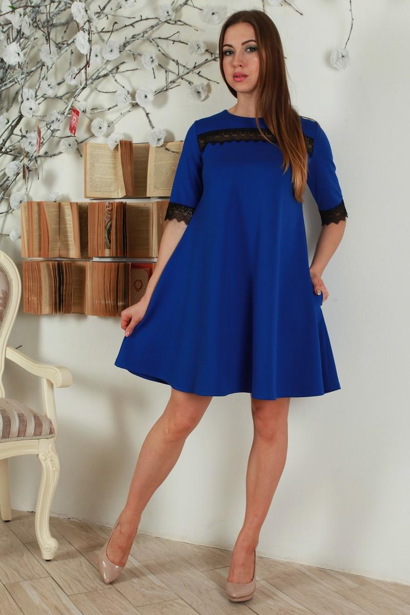 Стильное молодежное платье, размер 46 48