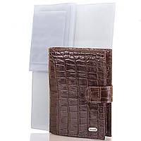 Мужской кожаный кошелек с органайзером для документов desisan (ДЕСИСАН) shi072