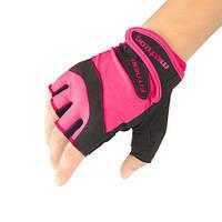 Женские перчатки для фитнеса Meteor Grip Lady (original), спортивные атлетические тренировочные