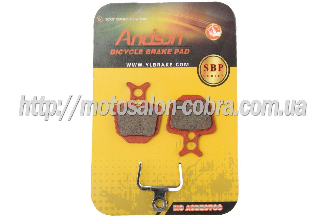 Колодки тормозные велосипедные (дисковые) 31.6х4х27.1   Formula Oro Hydraulic   (mod:SBP-1027)