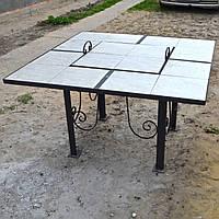 Костровый стол (стол-мангал)