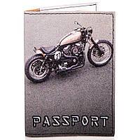 Мужская обложка для паспорта passporty (ПАСПОРТУ) kriv076