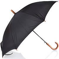 Мужской зонт трость полуавтомат fare 1132-black черный