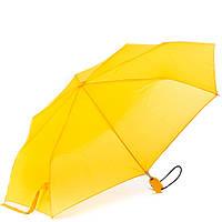 Женский автоматический зонтик fare 5460-yellow желтый на три сложения