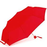 Женский механический зонт fare fare5008-red красный компактный облегченный