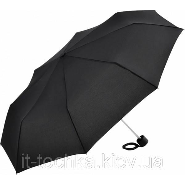 Зонт мужской fare fare5008-black механический компактный облегченный
