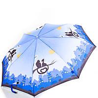 Женский полуавтоматический зонт zest z53626a-5 на три сложения