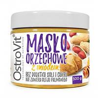 OstroVit Maslo Orzechowe z Miodem 500 г