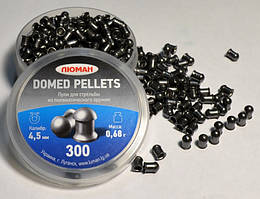 "Пули для пневматического оружия Люман ""Domed pellets"" 0.68 г. (300 шт.)"