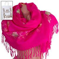 Женский шерстяной шарф 170 на 69 см eterno (ЭТЕРНО) es0206-7-pink