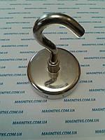 Магнит неодимовый с крючком. Е60