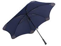 Противоштормовой зонт-трость мужской механический с большим куполом blunt (БЛАНТ) bl-xl-2-navy
