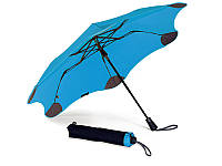 Противоштормовой зонт женский полуавтомат blunt (БЛАНТ) bl-xs-blue