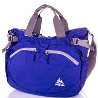Женская спортивная сумка через плечо onepolar (ВАНПОЛАР) w5220-blue